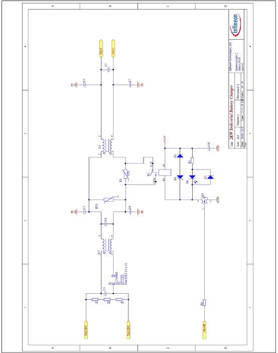 图9.EMI滤波器和浪涌电流限流电路图