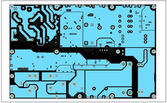 图19. 工业电池48V充电器参考设计PCB设计图:内2层