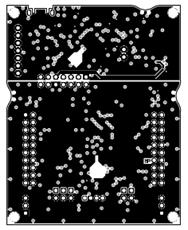 图10. 开发板MSP‑EXP430FR2355 LaunchPad™ PCB设计图(4)